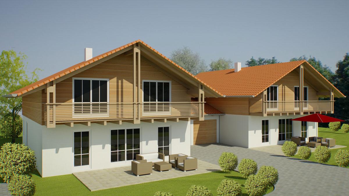 2 Einfamilienhäuser In Egling Projektgesellschaft Arget