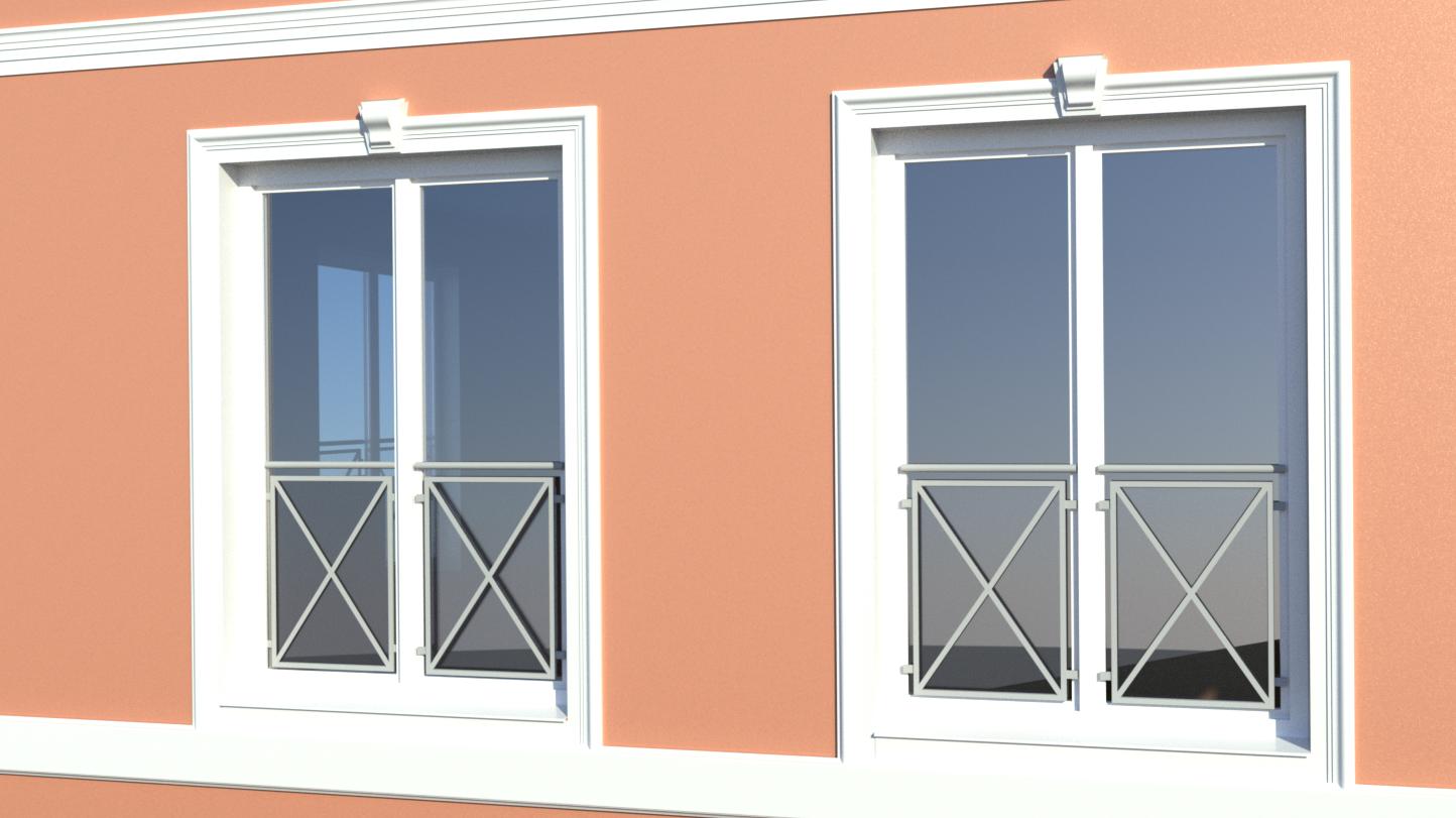 Fassade Fensterdetail
